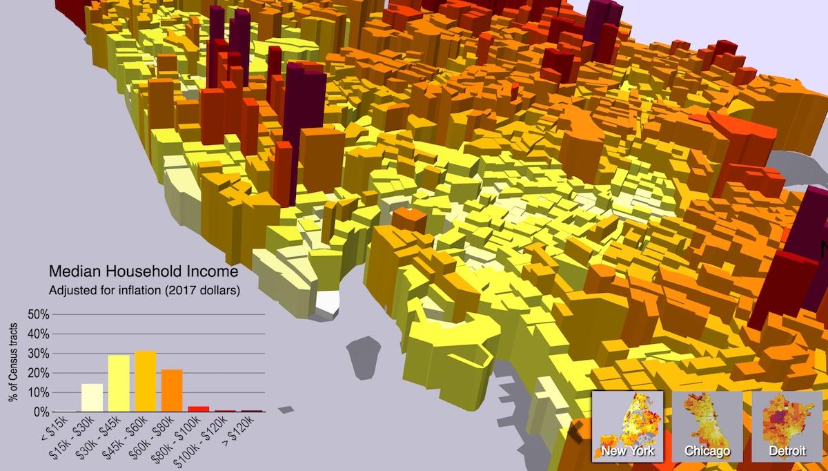 Multivariate Map Collection - Jim Vallandingham