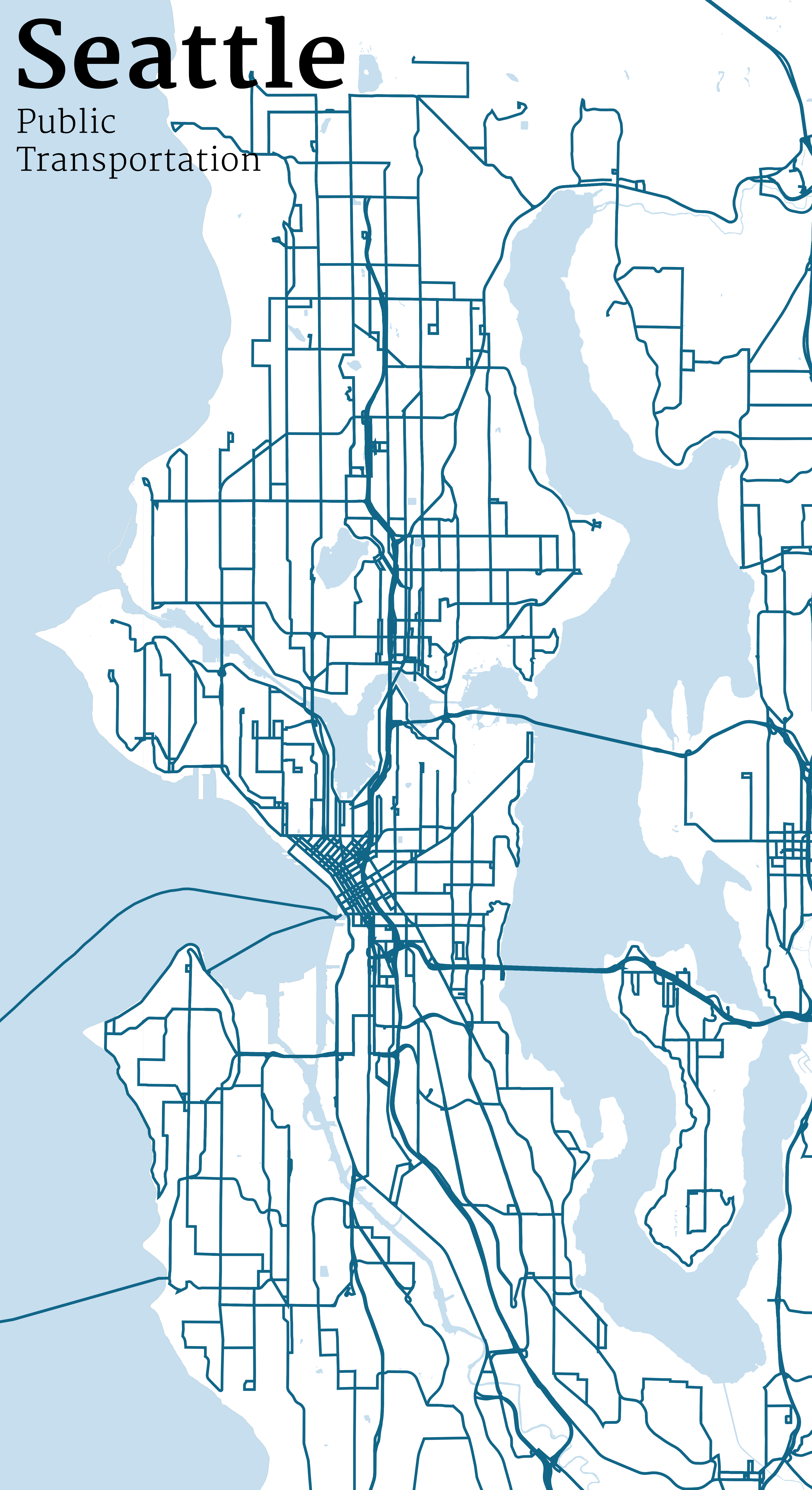 Mapping Seattle Streets Jim Vallandingham