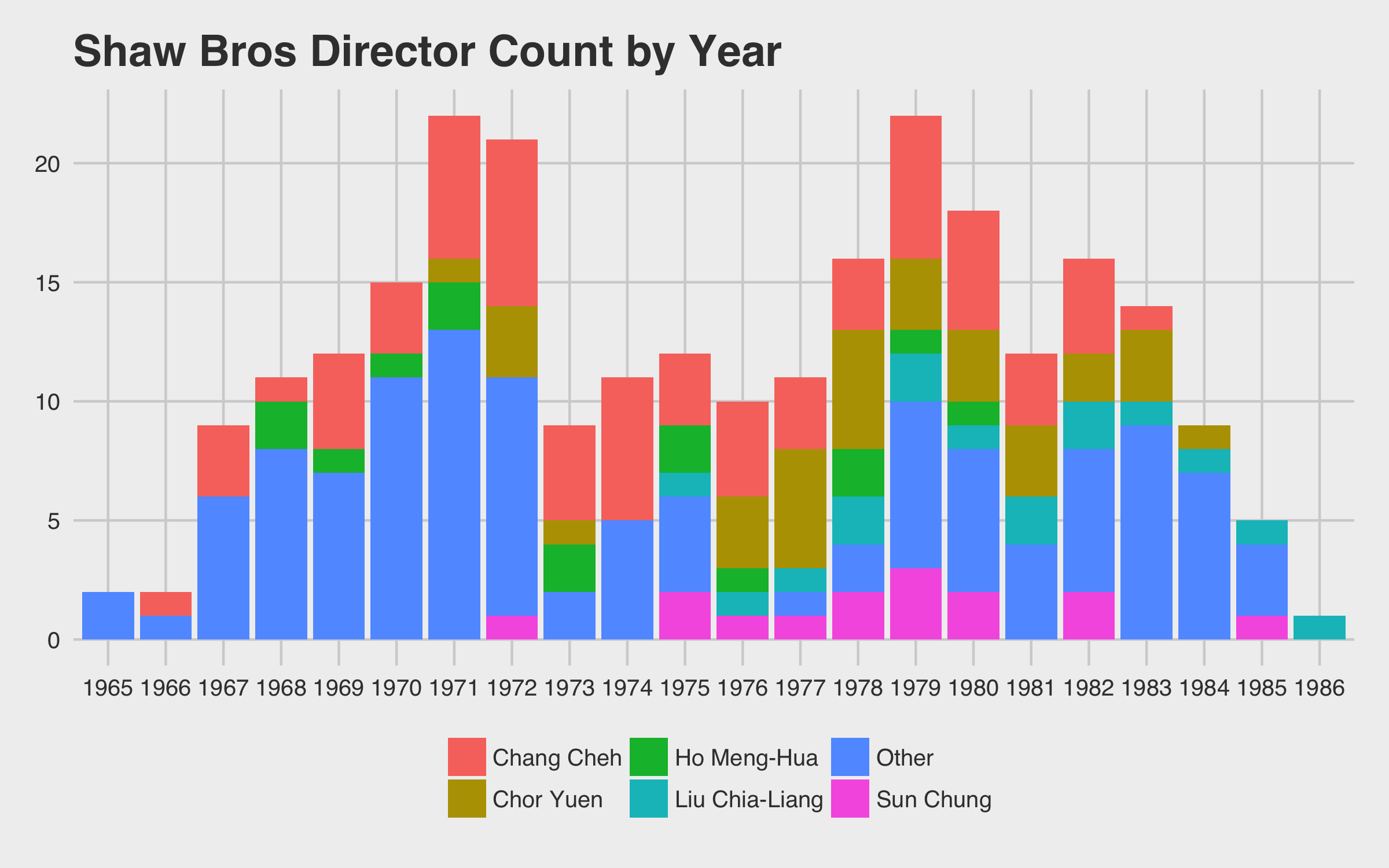 Top Directors by Year